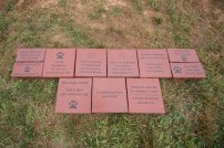 Sample pavers from Order #1